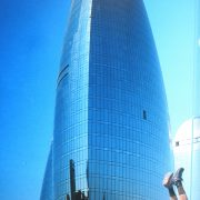 2014 Aerbaijan Flaming Towers Baku