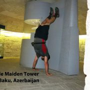 2014 AZERBAIJAN Maiden Tower, Baku