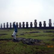2013 Chile Easter Island MOAI 14