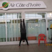 2018 IVORY COAST Inside ABJ Airport