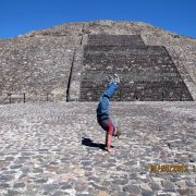 2012 Mexico Pyramid of Moon Upper Deck