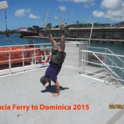 2015 Ferry St Lucia - Martinique