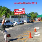 2015 South Africa - Lesotho Border post