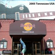 2005 USA Tennessee Hard Rock Cafe