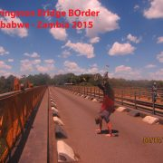 2015 ZIMBABWE Livingstone Bridge - Zambia