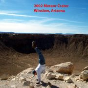 2002 USA Arizona Meteor Crater, Winslow t