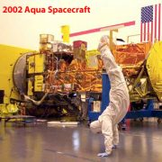 2002 USA California AQUA-spacecraft