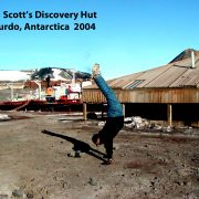 2004 Antarctica Scott Hut 012804