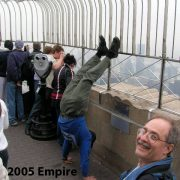 2005 USA New York Empire State Rooftop