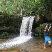 2014-Cambodia-Kbal-Spean-Waterfall