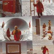 31 South Pole Markers