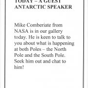 1994 South Pole Talk