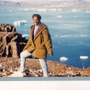 Cherice Simmons in Greenland